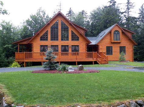 Log Sided Double Wides Double Wide Log Cabin Homes, Home