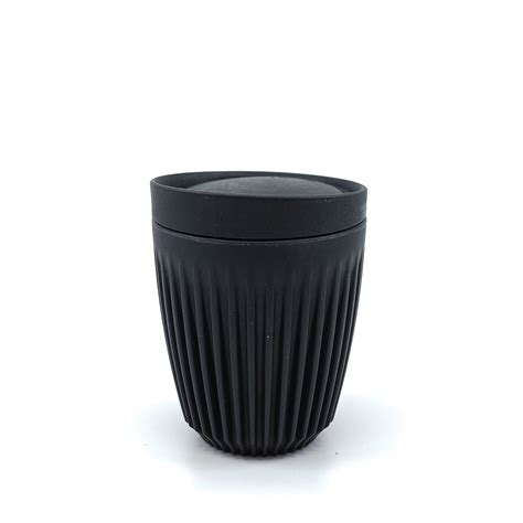 Frank green is proud to sell a range of stylish reusable consumer lifestyle products including coffee cups, water bottles, french presses, tea infusers, canisters, stainless steel straws, shopping bags and more. Huskee Reusable Coffee Cup - Charcoal - Foster & Black