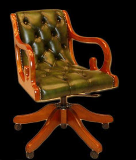 fauteuil de bureau anglais regency longfield 1880