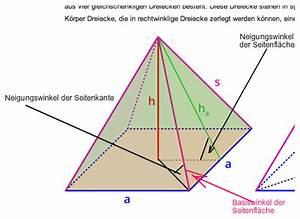 Quadratische Pyramide A Berechnen : quadratische verst ndnisproblem winkel f r seitenfl che ~ Themetempest.com Abrechnung