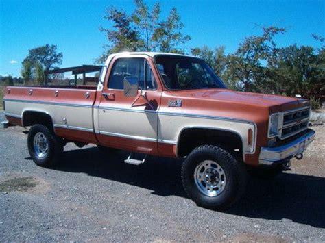Buy Used 1976 Chevy 34 Ton 4x4 Original Paint Low Miles