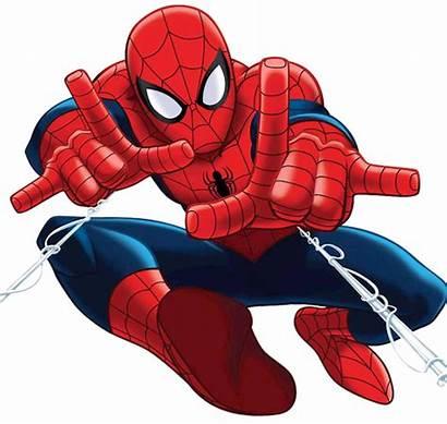 Superhero Spiderman Marvel Coloring Logos Printables Buildings