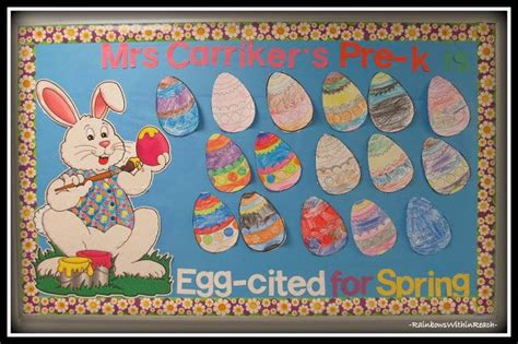 crafts actvities and worksheets for preschool toddler and 392 | easter bunny bulletin board