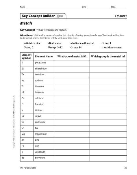 elements search worksheet  kellylee issuu