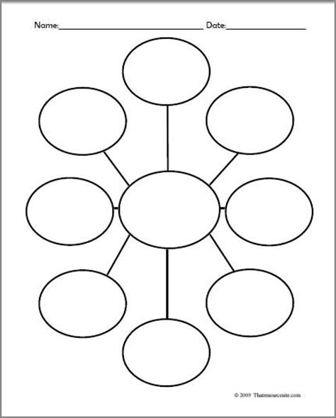 graphic organizer template 7 best images of printable web graphic organizer writing web graphic organizer word web