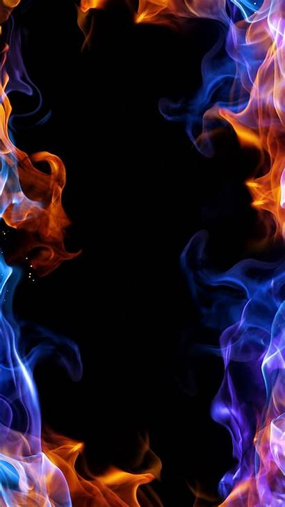 Fire Iphone Background Border Resolution 3d Smoke