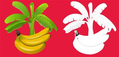 mewarnai buah pisang