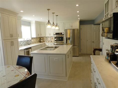induction cooktop island central feature kitchen design