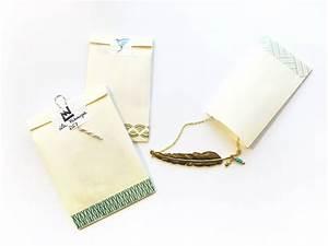 Pochette Cadeau Papier : petite pochette cadeau en papier la fabrique diy ~ Teatrodelosmanantiales.com Idées de Décoration