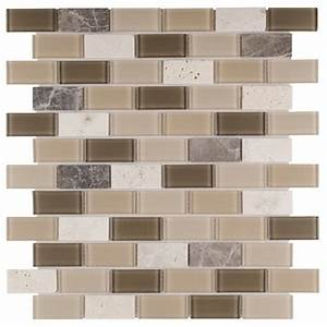 peel and stick rome glass mosaic tile mineral tiles With kitchen colors with white cabinets with stick peel off wall art