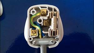 How To Wire A 3pin Plug Uk   Wiring A Plug