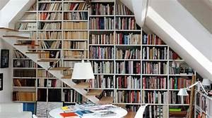 Comment Faire Une Bibliothèque : biblioth que les meilleurs meubles pour ranger les livres c t maison ~ Dode.kayakingforconservation.com Idées de Décoration