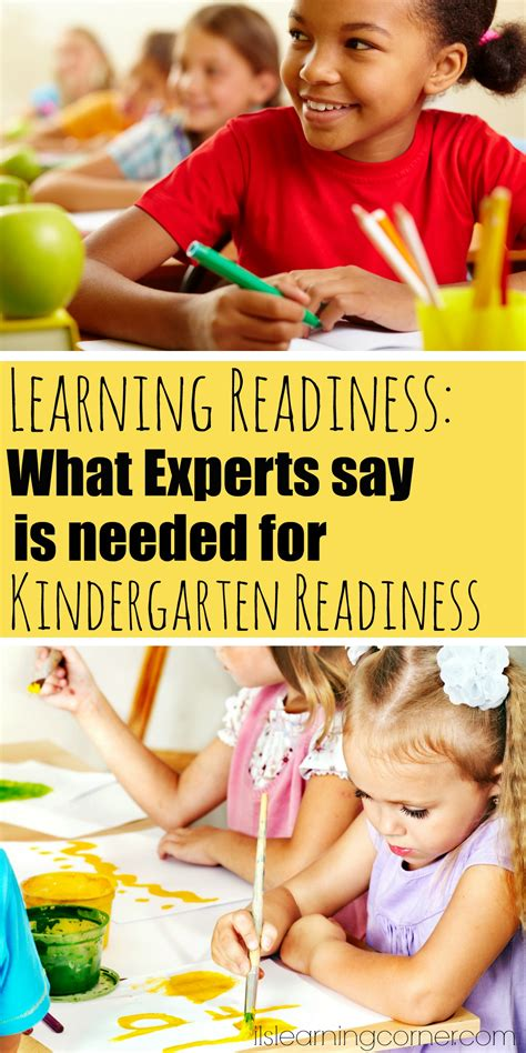 is my child ready for learning what experts say is really 967 | learning readiness pinterest