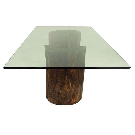 cool pedestals glass tables design ideas twin