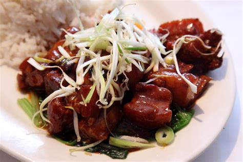 braised pork maos style hunan kitchen  grand sichuan