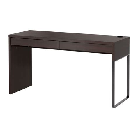 bureau mike ikea micke desk black brown ikea