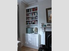 Fitted wardrobes and bookcases in London, shelving and
