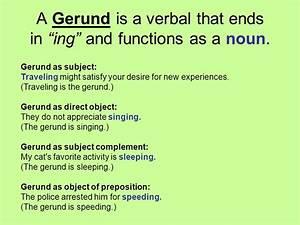 Image Result For Gerunds