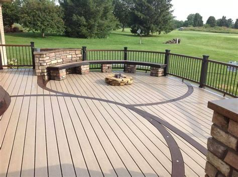 trex deck designs pictures decks unlimited trex decks