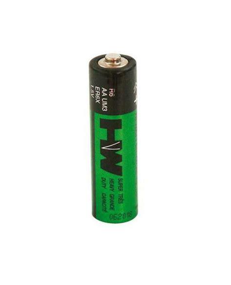 zink koolstof batterij   penlite aa st
