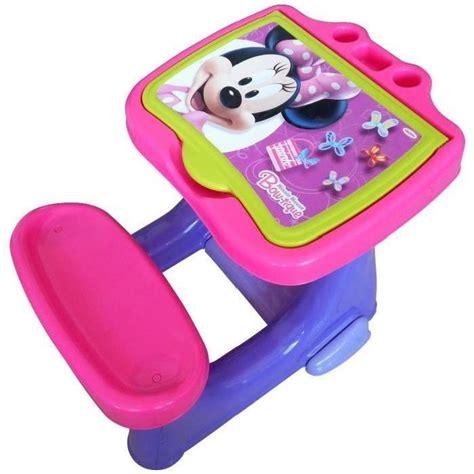 bureau enfant plastique minnie bureau enfant d activit 233 s set cr 233 atif 40 pces