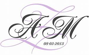 diy projects links and ideas hayley39s wedding tips 101 With create monogram online
