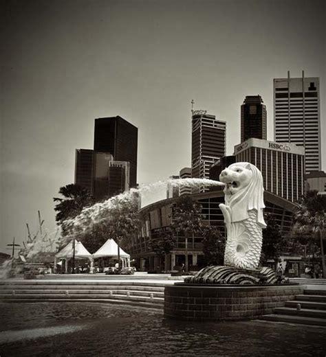 singapore black  white photography