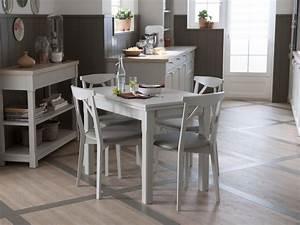 Table Cuisine Grise : chaises de bar tables salle manger et de cuisine schmidt ~ Teatrodelosmanantiales.com Idées de Décoration