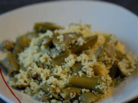 recettes de couscous  feves