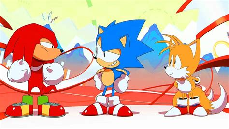 Sega Releases Part One Of Sonic Mania Adventures Animated