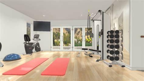 Custom 3d Home Gym Interior Design V2 By Fs2 Training, Llc