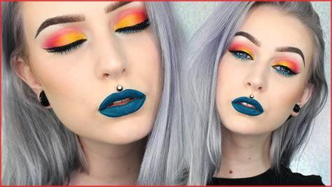 colorful makeup colorful makeup looks promakeuptutor promakeuptutor