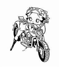 hd wallpapers betty boop coloring pages to print