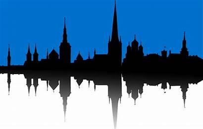 Tallinn Flag Skyline Inspired Vexillology Lovely Looks