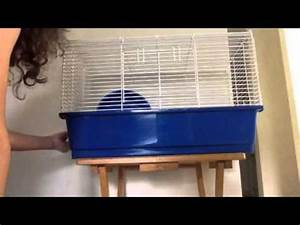 Hedgehog cage set-up tutorial - YouTube