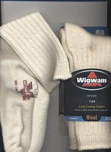 Wigwam Sport Wool Socks In 63 Wool Sock Size 11 Women 39 S