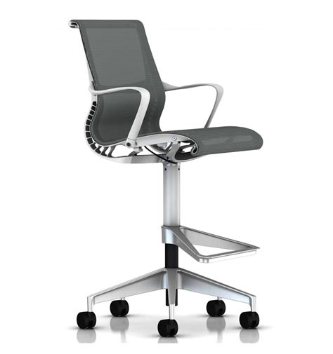 Herman Miller Setu Chair by Herman Miller Setu Stool White