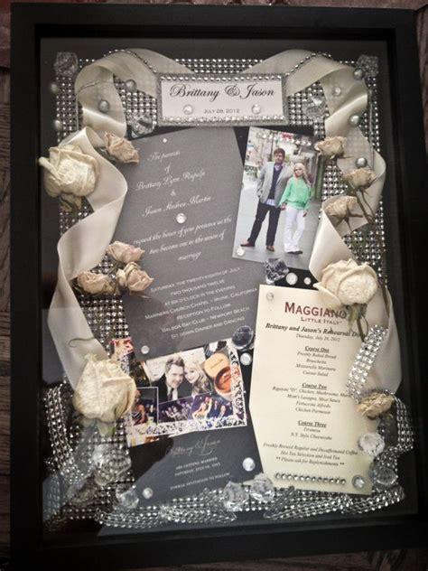 wedding shadow box inspiration add  dance lyrics