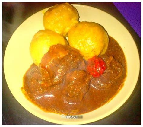 cuisine ivoirienne recette de foutou recettes africaines
