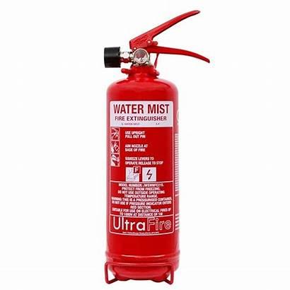 Fire Water Mist Extinguisher Ultrafire 1ltr Safelincs