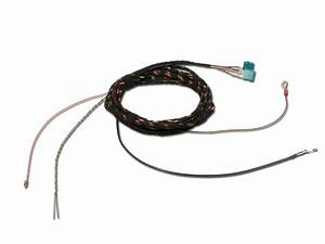 Wiring Harness Rear View Camera For Bmw X5  X6  E70  E71