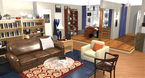 Big Apartments : The Big Bang Theory Apartment In D!