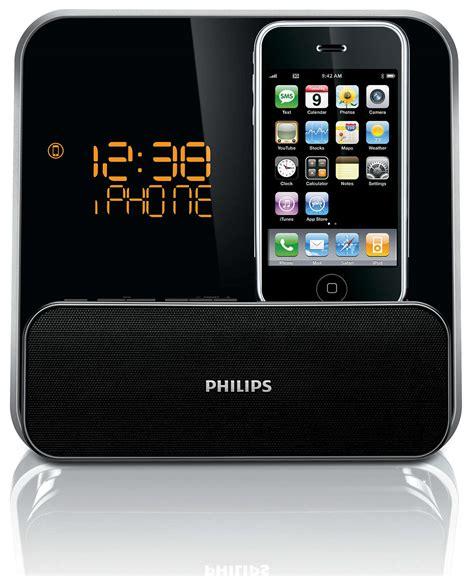 iphone alarm clock radio r 233 veil pour ipod iphone dc315 12 philips