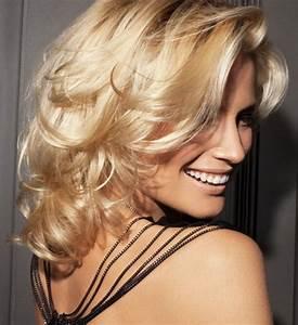 Coiffure Blonde Mi Long : coiffure balayage blond ~ Melissatoandfro.com Idées de Décoration