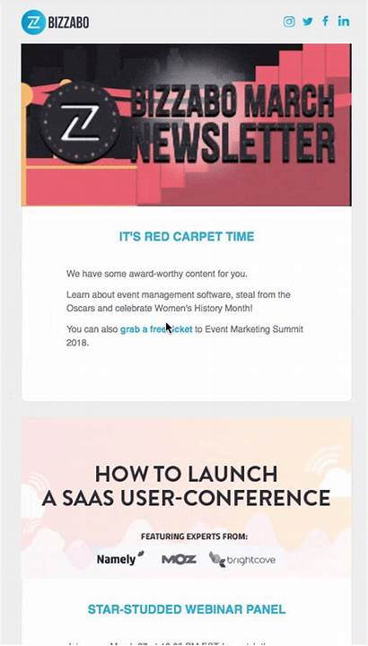 Event Newsletter Promotion Guide Example Bizzabo Section
