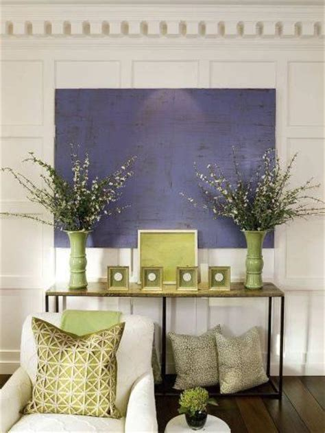 purple green living room full wall wainscoting transitional living room