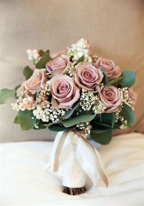 Show Wedding Romantic Nuance With Dusty Rose Wedding