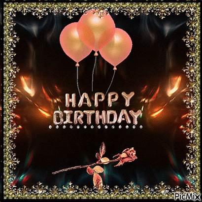 Birthday Happy Rose Balloon