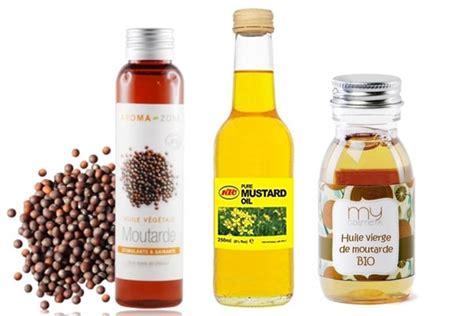 huile de moutarde cuisine l 39 huile végétale de moutarde pour de beaux cheveux