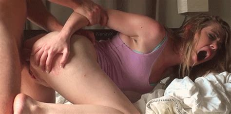 Painful Blonde Teen Anal Fuck Snakefiend
